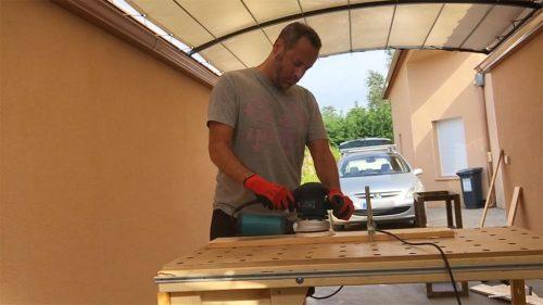 DIY Jardinière en bois