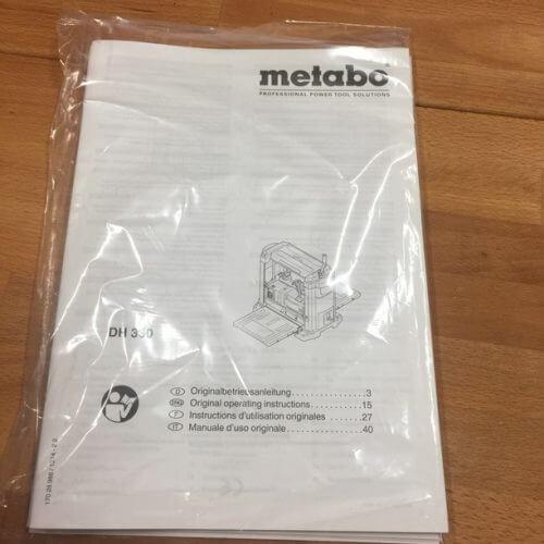Rabot Métabo DH330