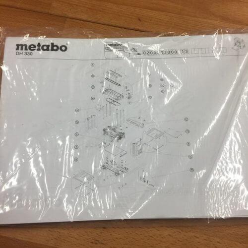 Rabot Métabo DH 330