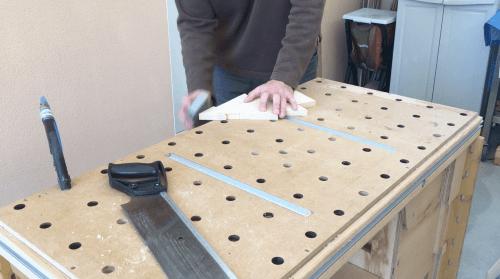 DIY sapin de Noël en bois