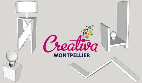 Lampe Creativa Sketchup