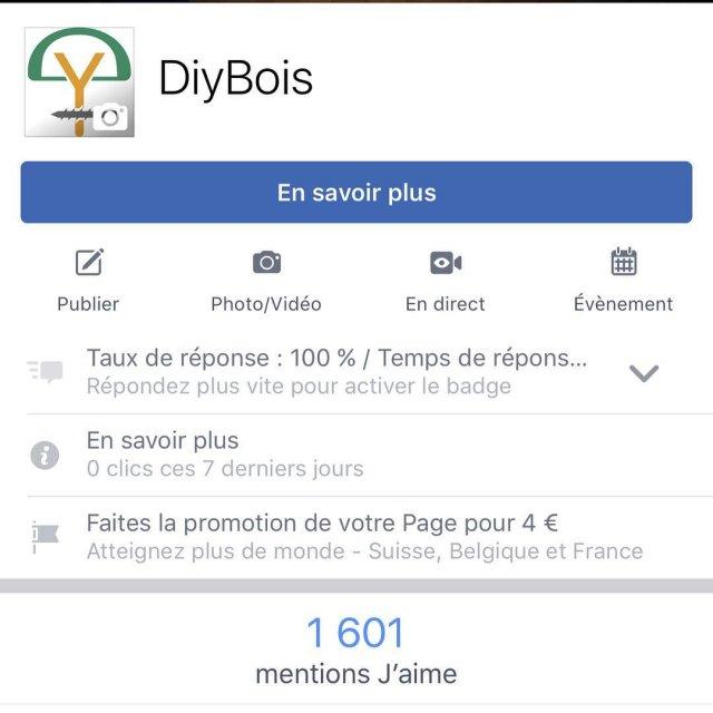 Idem pour Facebook ou vous tes 1600 !!!!! Merci hellip