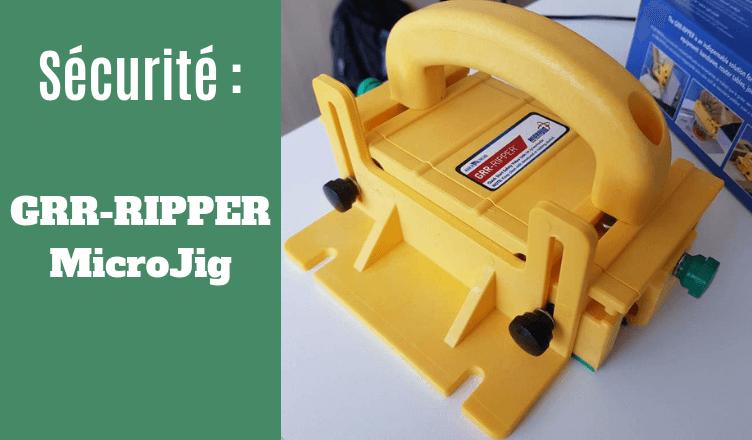 DIYBOIS GRR-RIPPER MicroJig