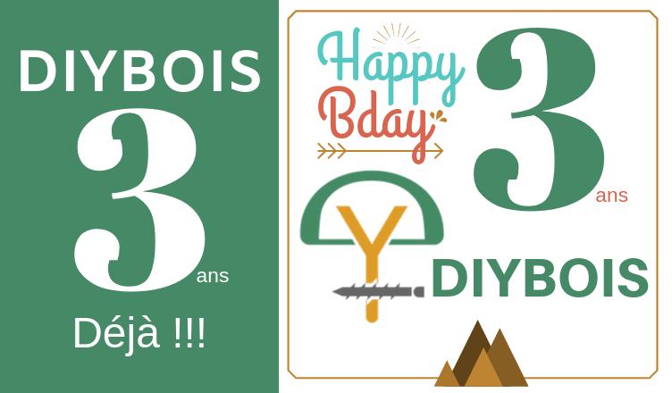 DIYBOIS 3 ans