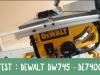 TEST-DEWALT-DW745-DE7400 / DIY-BOIS-EP13