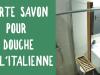 Fabrication d'un porte savon pour douche à l'italienne