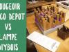 Bougeoir Brico Dépôt VS Lampe DIYBOIS